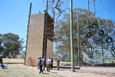 The Challenge Ropes Course