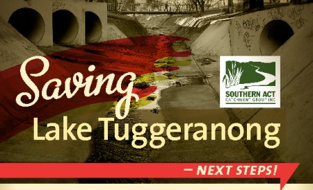 Save Lake Tuggeranong next steps
