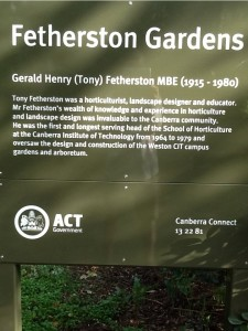 Friends of Fetherston Gardens