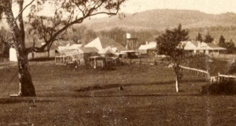 Tuggeranong Homestead in 1920 (NLA)
