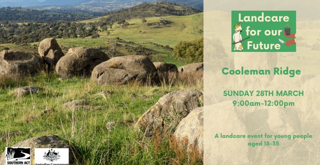 Landcare for our Future at Cooleman Ridge